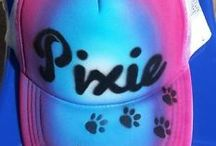 Airbrushed Hats / Personalized Hats for all types of people