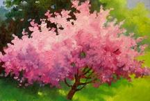 paint acry tree / by Lila Wickham