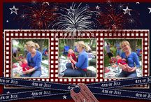 Scrapbook Ideas - 4th of July / by Diane Jones