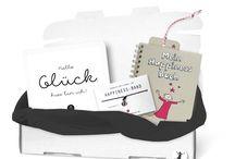Die HAPPINESS BOX für Dein Glück / Liebevoll zusammengestellte SOUL DIRECTORS CLUB Produkte, die glücklich machen : )
