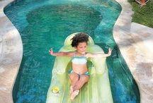 piletas / piletas de natación, pequeñas piscinas y estanques