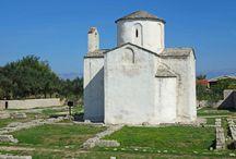 Nin - Kroatien / Nin ist eine kleine Stadt bei Zadar, die eine große Rolle in der Geschichte von Kroatien spielt. In ihr wurde angeblich der erste kroatische König, Tomislav I., gekrönt.
