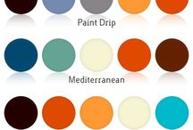 Color Combinations / In every art and design one must know the compatibility of color combinations.