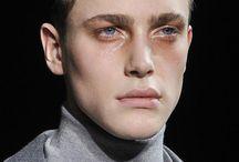 model faces