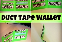 Duct Tape Crafts for boys and girls