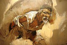 Indonesian art (9)Raden Basoeki Abdullah / Raden Basoeki Abdullah