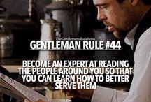 Gentleman rule s