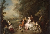 Rococo  1714-1780 / 18th century artistic movement that developed in Paris as an attack against the symmetry of the Baroque/Versailles.  / by Morgan Sedgley