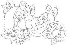 moldes de frutas