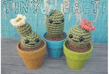 Små heklet kaktus / Små heklet kaktus