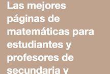 Matemáticas Secundaria
