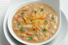 Warm up with Deliciously Dairy Soups / Cold outside? Nothing beats a warm bowl of soup on a cold day.