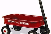 Boy Rooms: inspired by radio flyer/ vintage toy