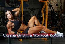 Female celebrity, bodybuilders workout routine / Female celebrity, bodybuilders workout routine related post from bodybuildingarena
