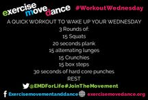#WorkoutWednesday / #WorkoutWednesday Feeling sluggish...why not reenergise with mini workouts... get yourself Exercising, Moving and Dancing..you know you want to!!!