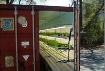 The Future of Urban Farming - Container Crops / Shipping containers can fit up to an acres worth of crops and save more land space than traditional farming methods, making them a great modern alternative.