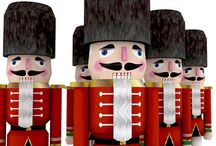 NUTCRACKER'S LOVE CHRISTMAS TO !! / by Sandy Parish