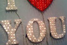 be my Valentine / by jennifer davis