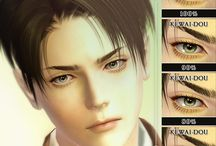 The Sims 3 Eyes