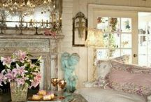 Vintage Cottage Decorating / Decor I'd love to use in my someday cottage home / by Kathy Cowell