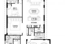 Display Floorplans / The floorplans from our range of spacious, open plan display homes.