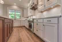 Two Toned Transitional Kitchen & Bath