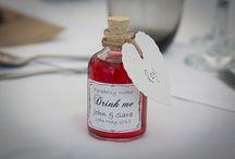 Wedding Favour Bottles