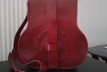 Ümran / My handmade leather work.