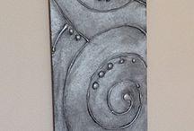 Hot glue gun Art , kuumaliima taidetta