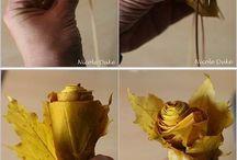 mit Naturmaterialien basteln