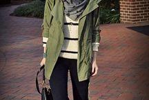 How to wear: Khaki Jacket/Parka