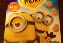 Despicable Me. Minion Love / Honey Maid Graham cracker snacks / by .・*̣̩⋆̩˚̣̣⚕͙I͠৳ૢ*ୡ Ṫ ᘝૢ ̦̊Ռ Ꭺ ♡ͦ ⚕͙˚̣̣⋆̩*̣̩・. ♚♡⃝Q͌u⃞Ꮛℯฺꊃ ᵒꊯ ണy⃘ C̮̮̑̑a⃞S⃕৳լᏋ♡⃝♚