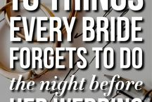 Wedding Things / Not ours but we love these wedding ideas...