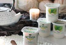 Inspiration Infusion : Touche de / Activia vous propose de nouvelles recettes avec des parfums inédits inspirés de l'infusion pour une nouvelle expérience en bouche, à la fois subtile et délicieuse.