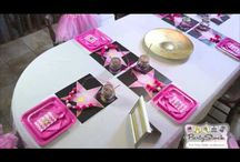 Pink Hollywood Glam Birthday Party Theme / by Partystock