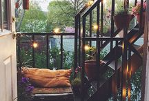 small B A L C O N Y / small space balcony idees