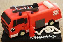 Kuchen FeuerwehrAuto