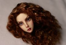 Oxana Geets dolls