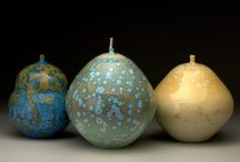 Crystalline Glazed Ceramics / Vessels and sculptures glazed with micro and macro crystalline glazes.