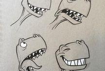 dinosaures et bestioles