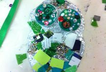 Family Workshop Hei Tiki 22.7.14 / Your chance to make your own neckpiece to wear like a Maori tribe member might wear.  All inspired by the Hei Tiki in the Garman Ryan Collection.  Part of our 40th collection anniversary celebrations.