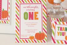 Pumpkin Party / pumpkin patch party, pumpkin parties, autumn parties, pumpkin spice everything,  / by The Unique Day