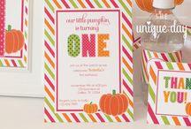 Pumpkin Party / pumpkin patch party, pumpkin parties, autumn parties, pumpkin spice everything,
