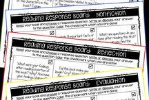 REading response notebooks
