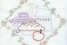 kitchen machine embroidery