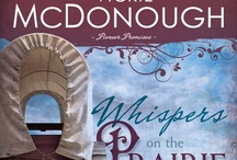 Whispers on the Prairie / Pioneer Promises book 1 - Ethan Harper's well-ordered life is throw into turmoil when an uppity city gal is stranded at his family's stage stop. Now his two brothers and every unmarried male in the country are wooing Miss Priss. When one brother proposes, Ethan is in turmoil. Is it because she's the wrong woman for his brother Aaron—or the right one for him?