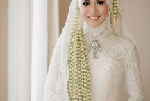 Lace tulle hijab
