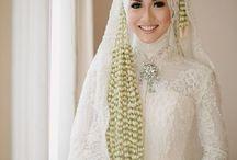 Hijab make up for wedding