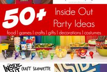 "Pixar's ""Inside Out"" Themed Party"