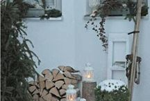 Zimowe dekoracje